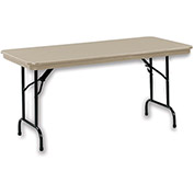 "KI DuraLite Folding Table - 96x30"" - Gray"