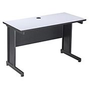 "36""W Desk - Gray Finish Top"