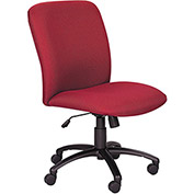 """SAFCO Big and Tall Chair - High-Back - 19-1/2–23-1/2"""" Seat Height - Burgundy"""