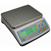 "Adam Equipment Digital Parts Counting Scale, 12lb x 0.002lb, 9-13/16"" x 7-1/8"" Platform, LBK12a"