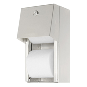 ASI® 0030, Surface Mounted Dual Roll Toilet Tissue Dispenser