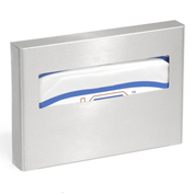 ASI® 0477-SM, Surface Mounted Toilet Seat Cover Dispenser Satin Stainless Steel