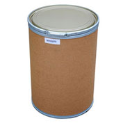 30 Gallon Fiber Drum with Steel Chime & Steel Lid
