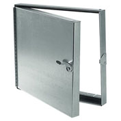 Hinged Duct Access Door, Galvanized Steel, 12x12