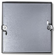 Duct Access Door w/No Hinge, Galvanized Steel, 6x6
