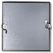 Duct Access Door w/No Hinge, Galvanized Steel, 14x14