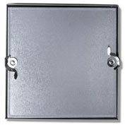 Duct Access Door w/No Hinge, Galvanized Steel, 16x16