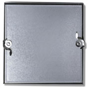 Duct Access Door w/No Hinge, Galvanized Steel, 18x18