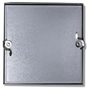 Duct Access Door w/No Hinge, Galvanized Steel, 24x24