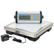 "Adam Equipment Digital Bench Scale, 33lb x 0.01lb, 11-13/16"" x 11-13/16"" Platform, CPWplus 15"