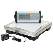 "Adam Equipment Digital Bench Scale, 165lb x 0.05lb, 11-13/16"" x 11-13/16"" Platform, CPWplus 75"