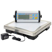 "Adam Equipment Digital Bench Scale, 330lb x 0.1lb, 11-13/16"" x 11-13/16"" Platform, CPWplus 150"