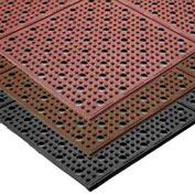 NoTrax Multi-Mat II Reversible Drainage Mat, 3' x 4', Brown