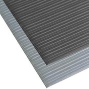 NoTrax Comfort Rest Ribbed Foam Mat, 3' x 5', Coal