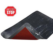NoTrax Marble Sof-Tyle RedStop Mat, 3' x 75', Black