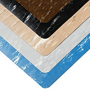 """NOTRAX Marble Sof-Tyle Anti-Fatigue Mat - 2x3' - -1/2"""" Thick - Gray"""