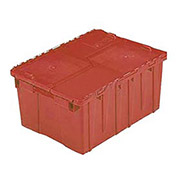 ORBIS Flipak Distribution Container, 21-13/16 x 15-3/16 x 12-7/8, Red - Pkg Qty 6