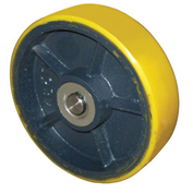 "7"" Polyurethane Steer Wheel for Wesco® Pallet Truck 241481"