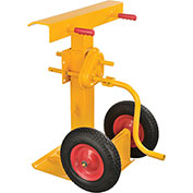 Hand Crank Trailer Jack Stand 100,000 Lb. Static Capacity