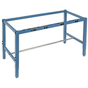 "Workbench Frame w/ Electric-Blue, 96""W x 30""D"