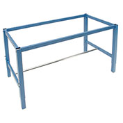 "Workbench Frame-Blue, 72""W x 30""D"
