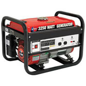 All Power America Portable Generator, 3250W, 6.5 HP, 120V, 12V Output