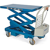"BISHAMON MobiLift Electric Scissors Lift Tables - 1100-Lb. Capacity - 17.1 - 63.2"" Lift Height"