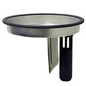 "Pullman-Holt Wet Pan 14"" Alum with 13.625"" Tube, for 86ASB Series"