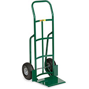"LITTLE GIANT Oversized Noseplate Hand Trucks - 10"" Full Pneumatic - Continuous Handle"