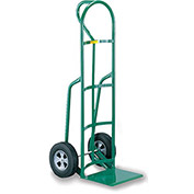 "LITTLE GIANT Oversized Noseplate Hand Trucks - 8"" Solid Rubber - D-Handle"