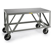 "LITTLE GIANT 5000-Lb. Capacity Mobile Workbench - 48x30"" Top"