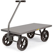 "LITTLE GIANT Shop Wagons - 12"" Mold-On Rubber Wheels - 60""Wx30""D Deck"