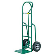 "Reinforced Nose Hand Truck, Loop Handle, 8"" Rubber Tire"