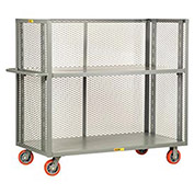 LITTLE GIANT 3-Sided Adjustable Truck, Mesh Sides, 30 x 48