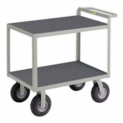 "Instrument Cart with Hand Guard, 30"" x 48"", 1200 lbs Capacity"