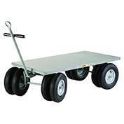 """8-Wheeler Wagon Truck with Flush Deck, 30 x 60"""
