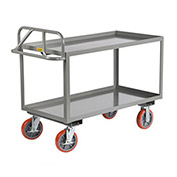 Little Giant Welded Shelf Truck, Lip Shelves, 24 x 48
