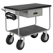"Mobile Work Center, 36"" x 24"", 1000 lbs Capacity"