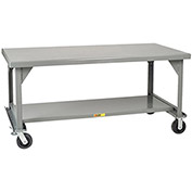 "LITTLE GIANT 3600-Lb. Capacity Mobile Workbench - 60x30"" Top"