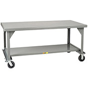 "LITTLE GIANT 3600-Lb. Capacity Mobile Workbench - 72x36"" Top"