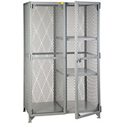 LITTLE GIANT Combination Storage Lockers - 32x61x76""