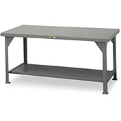 "LITTLE GIANT 10,000-Lb. Capacity Workbench - 72x36"" Top - Without Drawer"