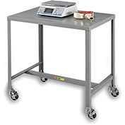 "LITTLE GIANT 500-Lb. Capacity Machine Table - 48x24x42"" - Mobile"