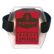 Ergodyne® Squids® Vinyl Arm Band ID/Badge Holder