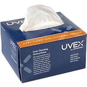 Uvex Clear Lens Cleaning Tissues, 500/Box