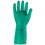 Ansell Sol-Vex Unsupported Nitrile Gloves, XL, 15 mil, 1-Pair - Pkg Qty 12