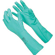 Ansell Sol-Vex Unsupported Nitrile Gloves, M, 11 mil, 1-Pair - Pkg Qty 12