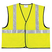 RIVER CITY Class II Economy Safety Vests, Size 3XL