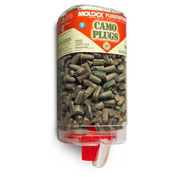Moldex Camo Plugs® with PlugStation® Dispensers, 500 Pairs/Dispenser