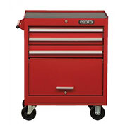 "Proto® Red 27"" Roller Cabinet 11 Drawer  27""W X 18""D X 42""H"